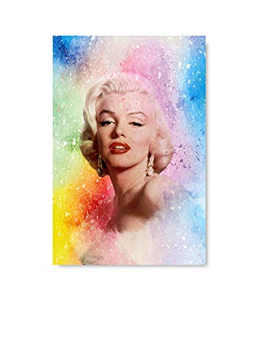 "Christmas Ugly Sweater Cal Marilyn Monroe Old Movie Poster Actress Photo Art Print Home Decor Hollywood Fashion Collection American Retro Fans Printed Lady Monroe Art4 8"" x 12"""