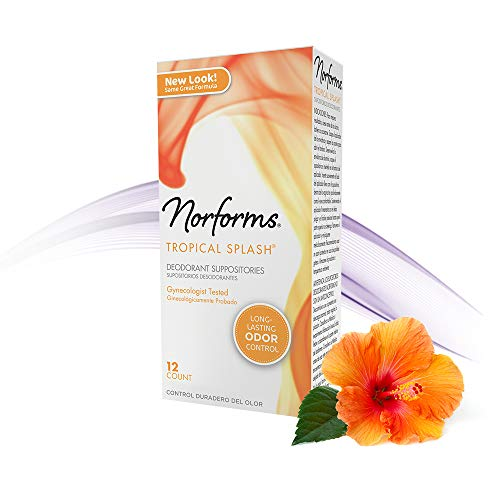 Norforms Feminine Deodorant Suppositories