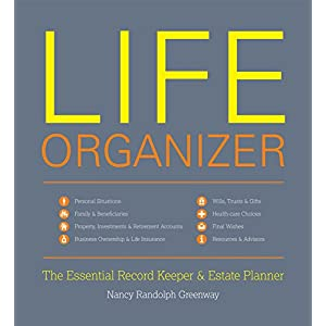 Life Organizer: The Essential Record Keeper & Estate Planner