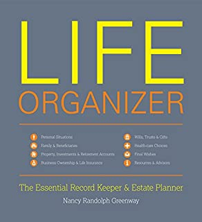 Life Organizer: The Essential Record Keeper & Estate Planner (1599620928) | Amazon Products
