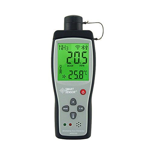 Ammonia NH3 Gas Detector AR8500 High Precision Handheld Digital Ammonia Gas detector Measuring Range: 0~100PPM, Resolution: 0.1PPM Ammonia Detector