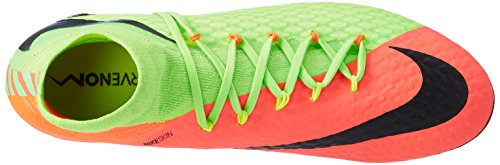 Nike Hypervenom Phatal III FG, Scarpe da Calcio Uomo Verde (Electric Green/Black-hyper Orange-volt)