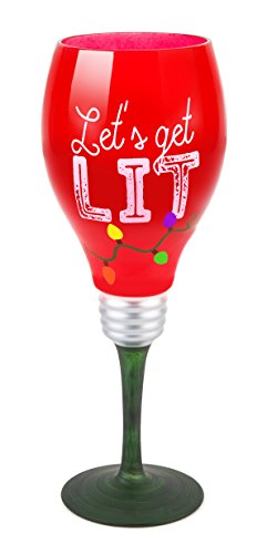 BigMouth Inc Holiday Cheer Glass