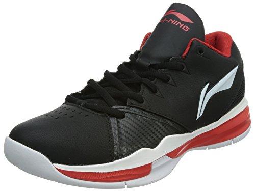 Li-Ning Zapatillas de Baloncesto de Material Sintético Para Hombre Negro Negro