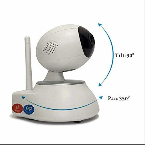 Ip kamera WiFi Drahtlose Überwachungskamera Weitwinkel Objektiv,Netzwerk Überwachung Video,Bewegungserkennung,kontrastreiche Nachtsicht,Audio und Videokommunikation,Netzwerk Baby Monitor