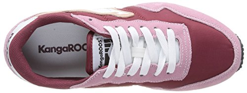 Kangaroos Invader Basic - Zapatillas de Deporte de otras pieles mujer Rosa - Rose (Dk Powder/Maroon 667)