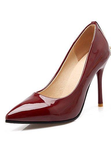 GGX/Damen Schuhe Heels/spitz Toe Heels Hochzeit/Party & Abend/Kleid Stiletto Ferse Kette beige-us8 / eu39 / uk6 / cn39