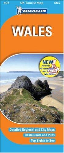 Wales (UK Tourist Maps)