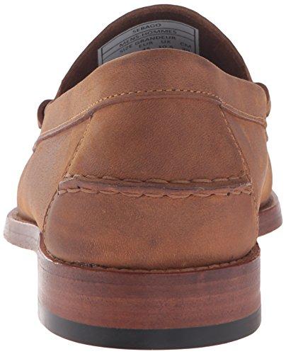 Sebago Mens Arv Öre Loafer Tan Oljad Läder