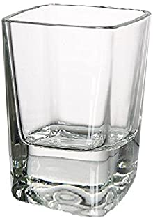 Circleware 42701 Square Shot Glasses, Set of 6, Heavy Base Glassware Drinking Cups for Whiskey, Vodka, Brandy, Bourbon and Best Selling Liquor, 2.3 oz, Squarez (B01E7N4HJA) | Amazon price tracker / tracking, Amazon price history charts, Amazon price watches, Amazon price drop alerts