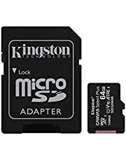 Kingston Canvas Select Plus microSD-kaart Inclusief SD-adapter 64 GB
