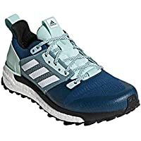 adidas outdoor Women's Supernova Trail Real Teal/White/Clear Mint 7 B US