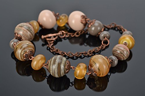 (Lampwork Glass Bead Necklace)
