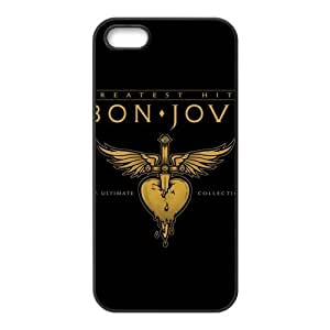 Danny Store 2015 New Arrival TPU Rubber Coated Phone Case Cover for iPhone 5 / 5S - Bon Jovi