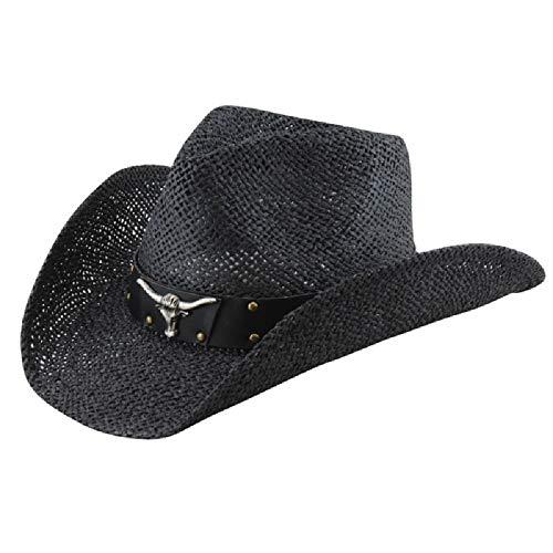Men's & Women's Western Style Cowboy/Cowgirl Toyo Straw