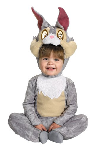 Ears Bambi Costume (Child Thumper Costume by Disguise - Size 12 to 18 Months by Disguise)