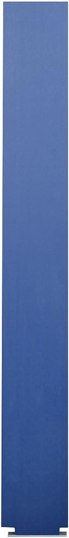 40-90872295-9509 Pilaster wtih Trim Shoe Blue Global Steel 22 W X 82 H Solid Plastic Polymer