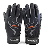 Primal Baseball Pitted Leather Panther Baseball Batting Gloves - Small