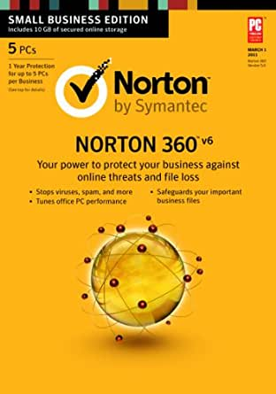 Norton 360 6.0 - 5 Users [Download] [Old Version]