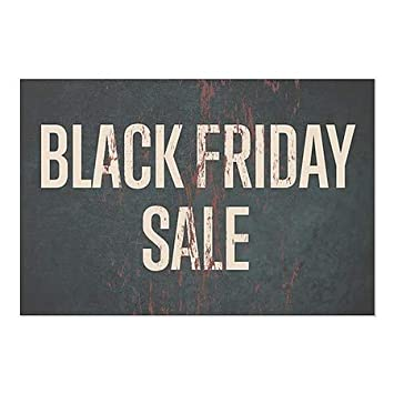 Black Friday Sale Ghost Aged Rust Window Cling CGSignLab 27x18 5-Pack