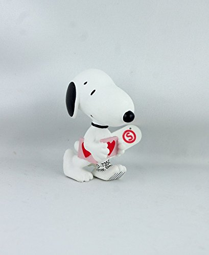 Snoopy Holding a Heart Miniature Figurine for sale  Delivered anywhere in USA