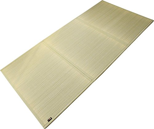 EMOOR Japanese Traditional Tatami Mattress, Twin Size, Natural (Undyed), Made in Japan