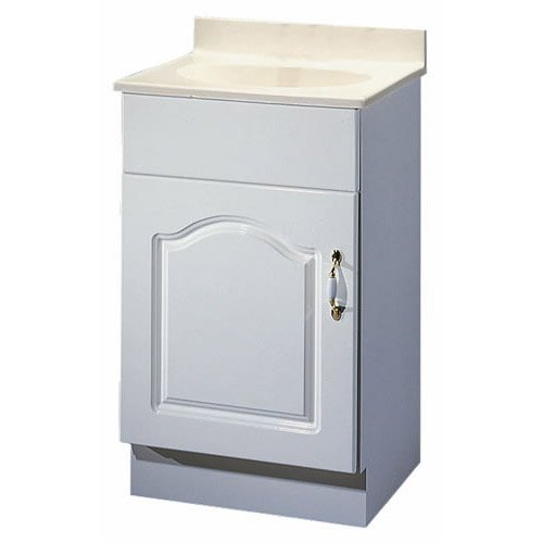 FOREMOST GROUPS WDVAT1816 Foremost Diplomat Traditional Bathroom Vanity 18 In W X 16 In D X 30 In H X 1//2 In T
