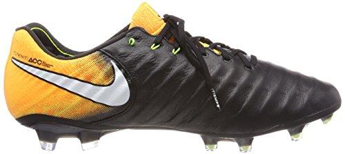 Nike Tiempo Legend VII FG, Scarpe da Calcio Uomo Nero (Black/White-laser Orange-volt-black)