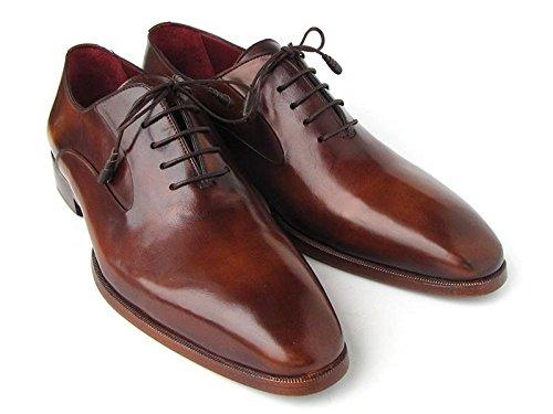 Oxfords Calf Brown (Paul Parkman Men's Plain Toe Brown Calfskin Oxfords (ID#019-BRW) (45 M EU / 11.5 D(M) US))