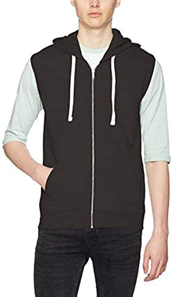 Awdis Sleeveless Hoodie, Sweat à Capuche Homme: