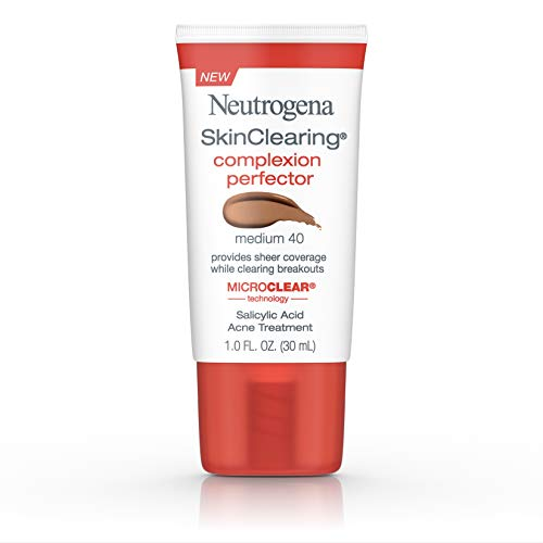 Neutrogena Skinclearing Complexion Perfector With Salicylic Acid, Medium, 1 Fl Oz