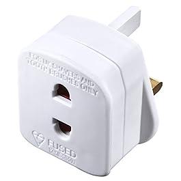 Masterplug Indoor Power SHADC-MP Shaver Adaptor Fused &#8211...