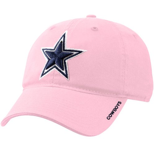 Dallas Cowboys Basic Slouch Cap (Pink)