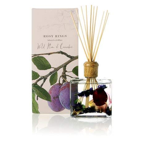 Rosy Rings Botanical Reed Diffuser - Wild Plum and Cannabis by Rosy Rings (Image #1)