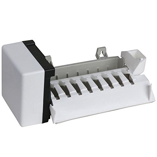 Compatible Refrigerator Icemaker Assembly for Part Number 626663, Kenmore / Sears 10656532400, GD5RHAXSB01, KitchenAid KSRS25IKBL01 Fridge by After Market Parts