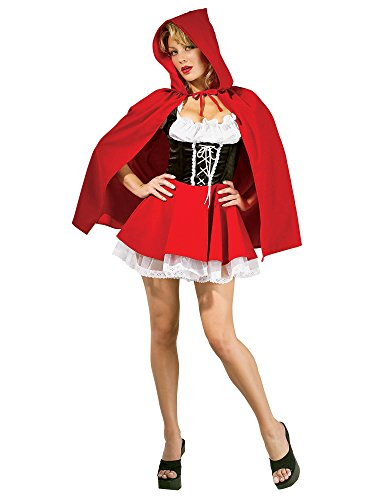 Secret Wishes Sexy Red Riding Hood Costume, Red, Large ()
