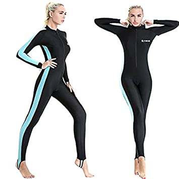 Semoss Wetsuit UV Proteccion Traje Neopreno Surf Mujer Long ...
