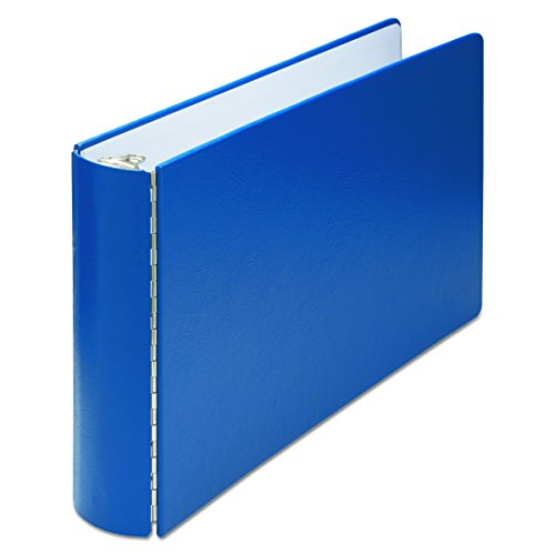 Wilson Jones 346 Line Casebound DublLock Ring Binder, 2 inch Capacity, 11