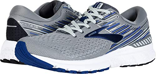 - Brooks Men's Adrenaline GTS 19 Grey/Blue/Ebony 8.5 EE US