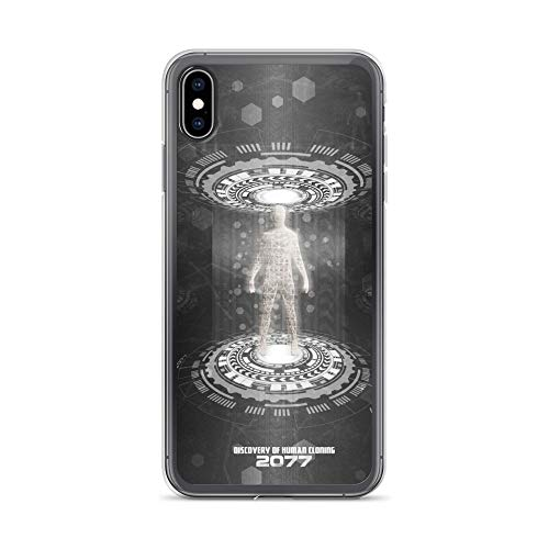 iPhone Xs Max Case Anti-Scratch Gamer Video Game Transparent Cases Cover Human Cloningsummer 77 Gaming Computer Crystal Clear