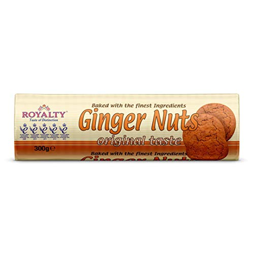 Royalty Ginger Nuts Biscuits 300 g