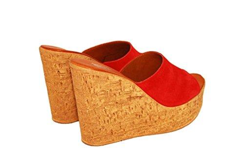 Sandalen Sandaletten aus Leder Schuhe Damen RIPA shoes - 51-1523