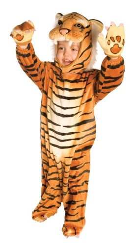 Underwraps Baby's Tiger, Brown, Medium (18 - 24 Months) (Easy Kids Costumes)
