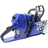 Farmertec 92cc Holzfforma Blue Thunder G660 Gasoline Chain Saw Power Head Without Guide Bar and Chain All Parts are…