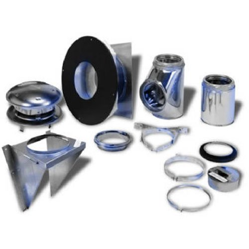 Selkirk Metalbestos 208622 8-Inch Complete Stove Thru Wall Kit ()