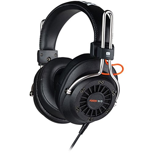Fostex TR-70 80 Ohm Open back Dynamic Professional Monitoring Headphones by Fostex