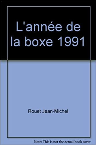 L'année de la boxe 1991 pdf, epub ebook