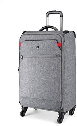 BXDYA トロリーケース、防水オックスフォード布スーツケース、ユニバーサルホイールパスワードのスーツケース、ビジネス休暇旅行のベッドルーム (Color : B)