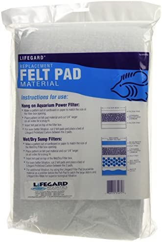 Lifegard Aquatics Bonded Filter Media 30