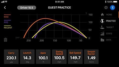 Voice Caddie Golf Swing Caddie SC300 Portable Launch Monitor by VOICE CADDIE (Image #3)